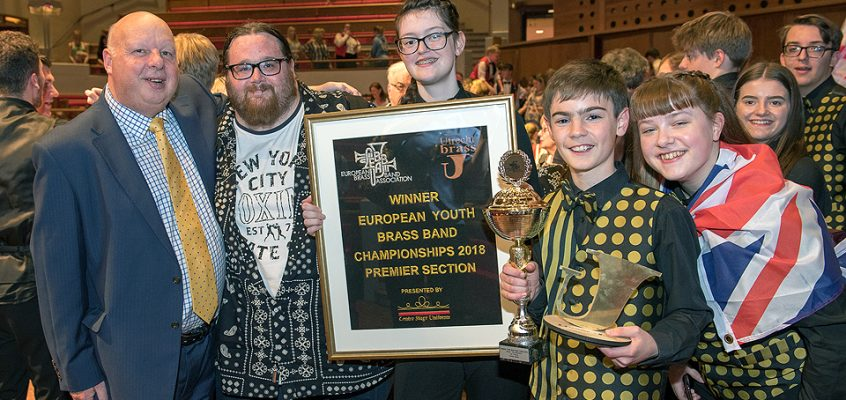 European Youth Championship 2018 – Champion Band!