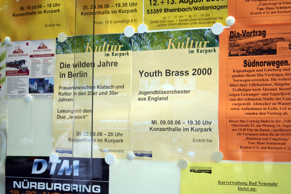 Tour 2006 Germany Youth Brass 2000